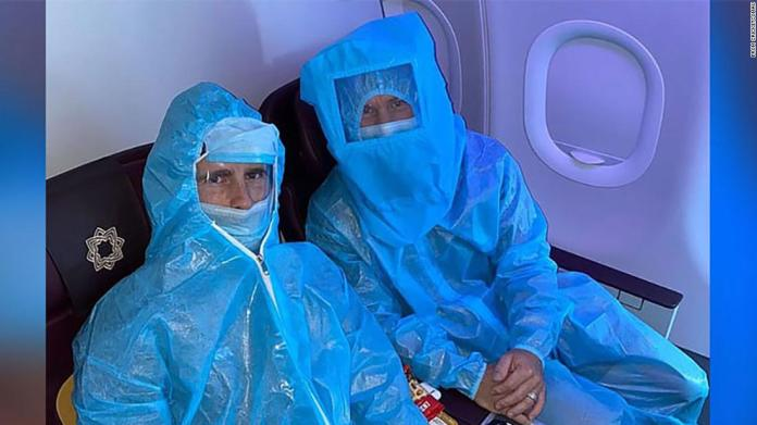 Australian cricketers wear full PPE on flight to Delhi; Aussie PM tells IPL stars to make 'own arrangements' to return home   Latest News Live   Find the all top headlines, breaking news for free online April 28, 2021