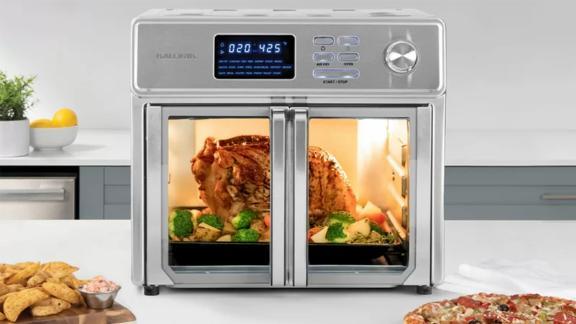 Kalorik 26-Quart Digital Air Fryer Oven, Stainless Steel -- The Maxx
