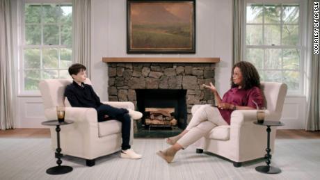 Elliot Page cries & # 39;  Tears of joy;  Oprah in interview