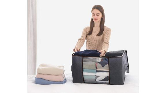 Lifewit Large-Capacity Clothes Storage Bag Organizer