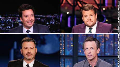 Late-night television may never be the same