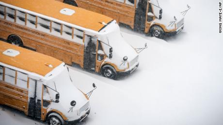 New York City public schools cancel snow days, citing the success of remote learning during the pandemic