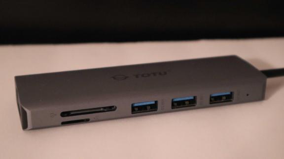 Totu 9-in-1 Triple Display USB C Hub