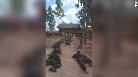Civil Disobedience Movement (CDM)  protesters train with armed groups in the wake of a military coup in Myanmar.