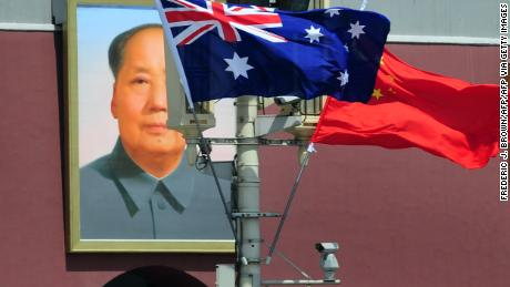 The China-Australia relationship is in the doldrums.