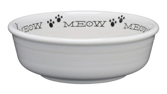 Fiesta Meow Cat Bowl
