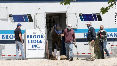 Medina Spirit to race at Preakness, trainer says Kentucky Derby winner tested positive for betamethasone after being treated with ointment
