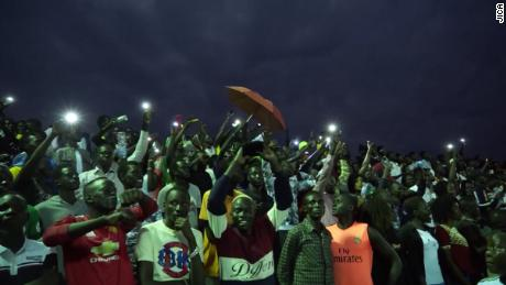 Youths from all over South Sudan come together for the National Unity Day sports festival.