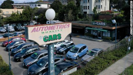 There was a 10% price increase in used cars and trucks.