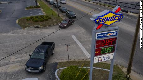 The average price of a gallon gas hit $3 this week.