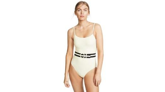 Solid & Striped The Nina Belt One-Piece Swimsuit
