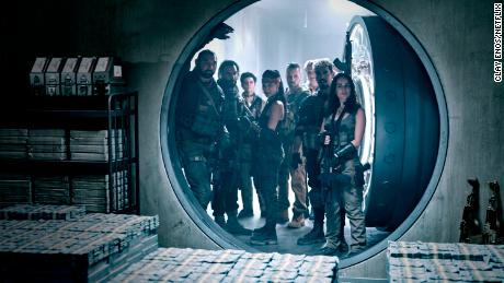 """The cast of """"Army of the Dead"""" are shown."""