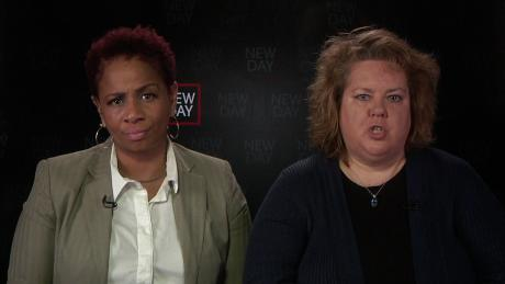 When Carlette Duffy (left) concealed she was Black, her home's appraised value more than doubled. Pictured right: Amy Nelson, executive director of Fair Housing Center of Central Indiana.