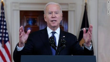 Biden, staring down first Mideast crisis, touts ceasefire