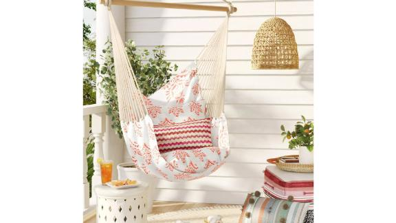 Pillowtop Hammock Chair With Spreader Bar