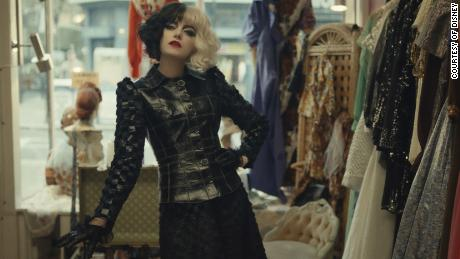 """""""Cruella,"""" premieres in theaters and on Disney+ at Emma Stone (Courtesy of Disney)."""