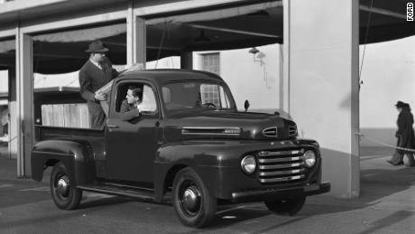 In 1948, Ford started making the first F-series truck, the Ford F-1.