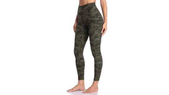 Colorfulkoala Women's High-Waisted Yoga Pants 7/8 Length Leggings With Pockets