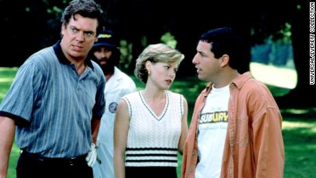 Christopher McDonald (L) says that once he read the role of Shooter McGavin, he knew it would be