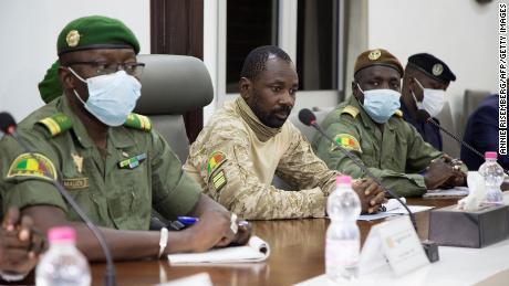 The Supreme Court of Mali declares the coup leader Goita interim president