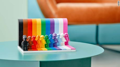 Lego celebrates Pride Month with its first-ever LGBTQIA+ set