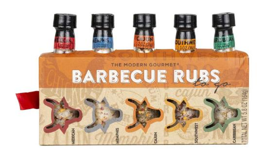 Thoughtfully Gifts Barbecue Rubs To Go, 5-Pack