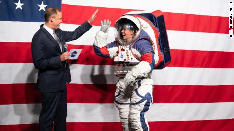 NASA designs new spacesuits for next lunar mission in 2024