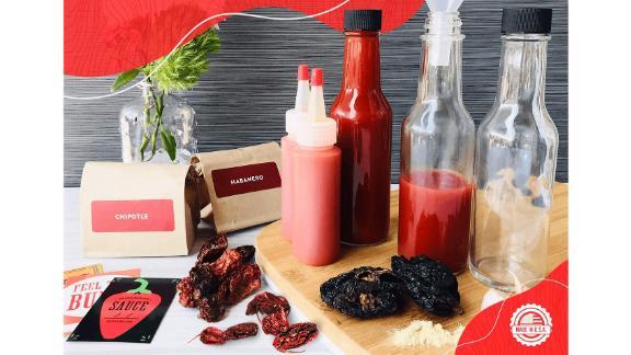 DIY Gift Kits Deluxe Hot Sauce Kit
