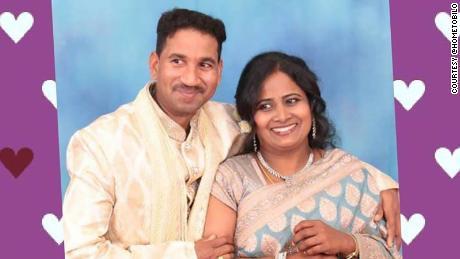 Nades and Priya met in Australia and married in September 2014.