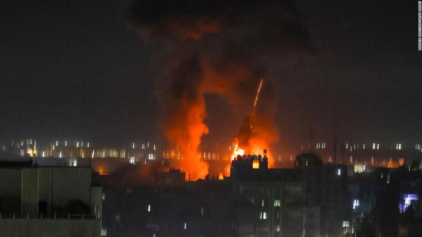Israeli military launches airstrikes in Gaza in re…