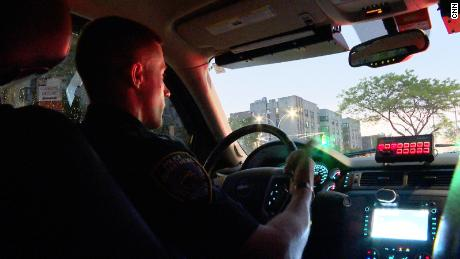 We spent two nights on patrol with the NYPD. Here's what they told us about spiking crime in the city