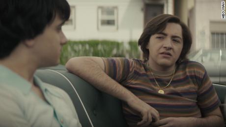 """Michael Gandolfini (right) stars as the young Tony Soprano in """"The Many Saints of Newark."""""""