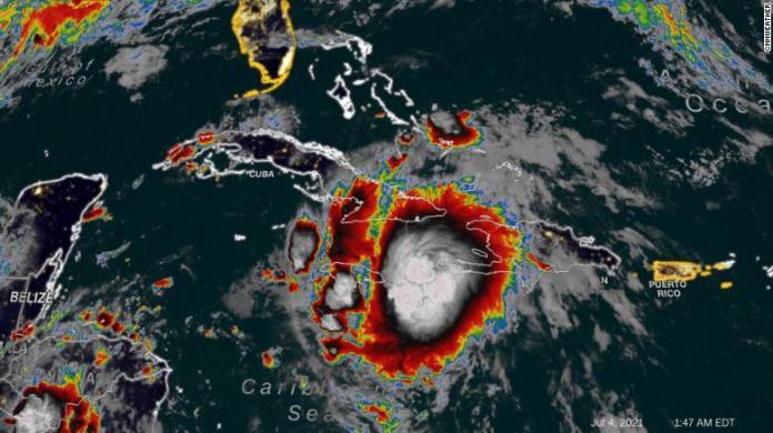 Tropical Storm Elsa will impact parts of Cuba and Jamaica Sunday.