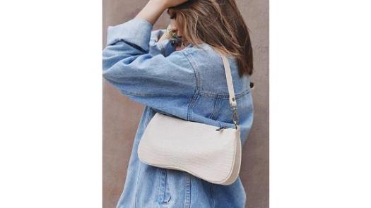 JW Pei 90s Vegan Leather Shoulder Bag