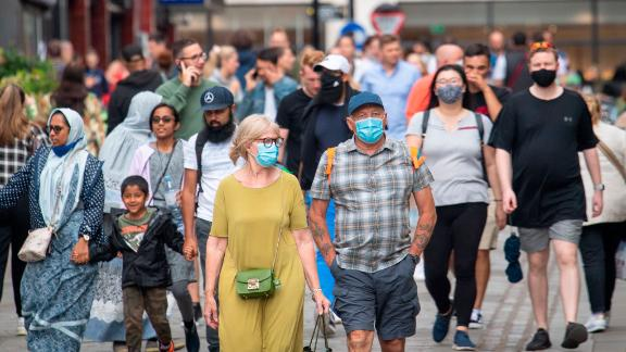Mask mandates in England will end on July 19.