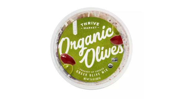 Thrive Market Organic Greek Olive Mix