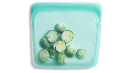 Stasher Platinum Silicone Food-Grade Reusable Storage Bag Sandwich