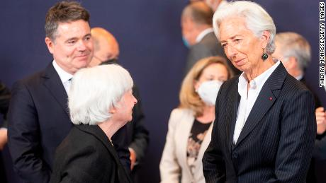 President of the European Central Bank Christine Lagarde will host a press conference on Thursday.