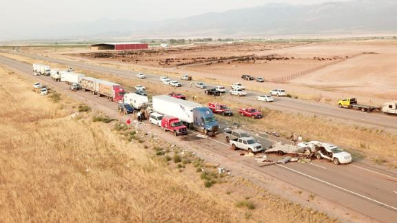 A sandstorm in Millard County, Utah, led to a series of deadly crashes on I-15, officials said Sunday.