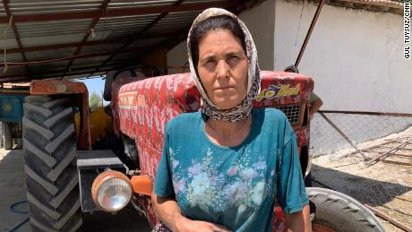 """Gule Kakkar, 48, told CNN: """"Everything's going to burn.  Our land, our animals and our home."""""""