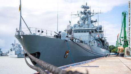 German warship sails for the South China Sea for the first time in nearly two decades amid tensions with Beijing