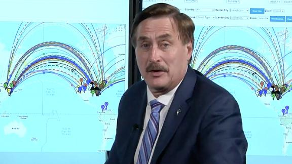 """Mike LIndell appearing in a scene from his video, """"Absolute Proof."""""""