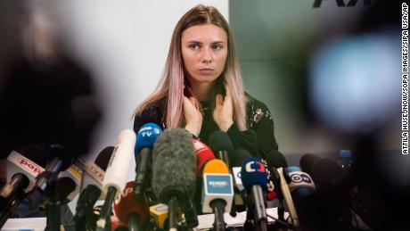Belarusian Olympic officials who allegedly tried to force sprinter onto plane stripped of accreditation