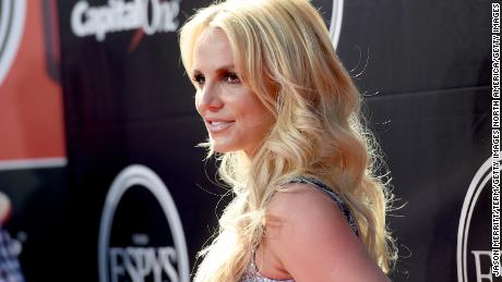 Britney Spears attends the 2015 ESPYS at Microsoft Theater in Los Angeles, July 15, 2015.