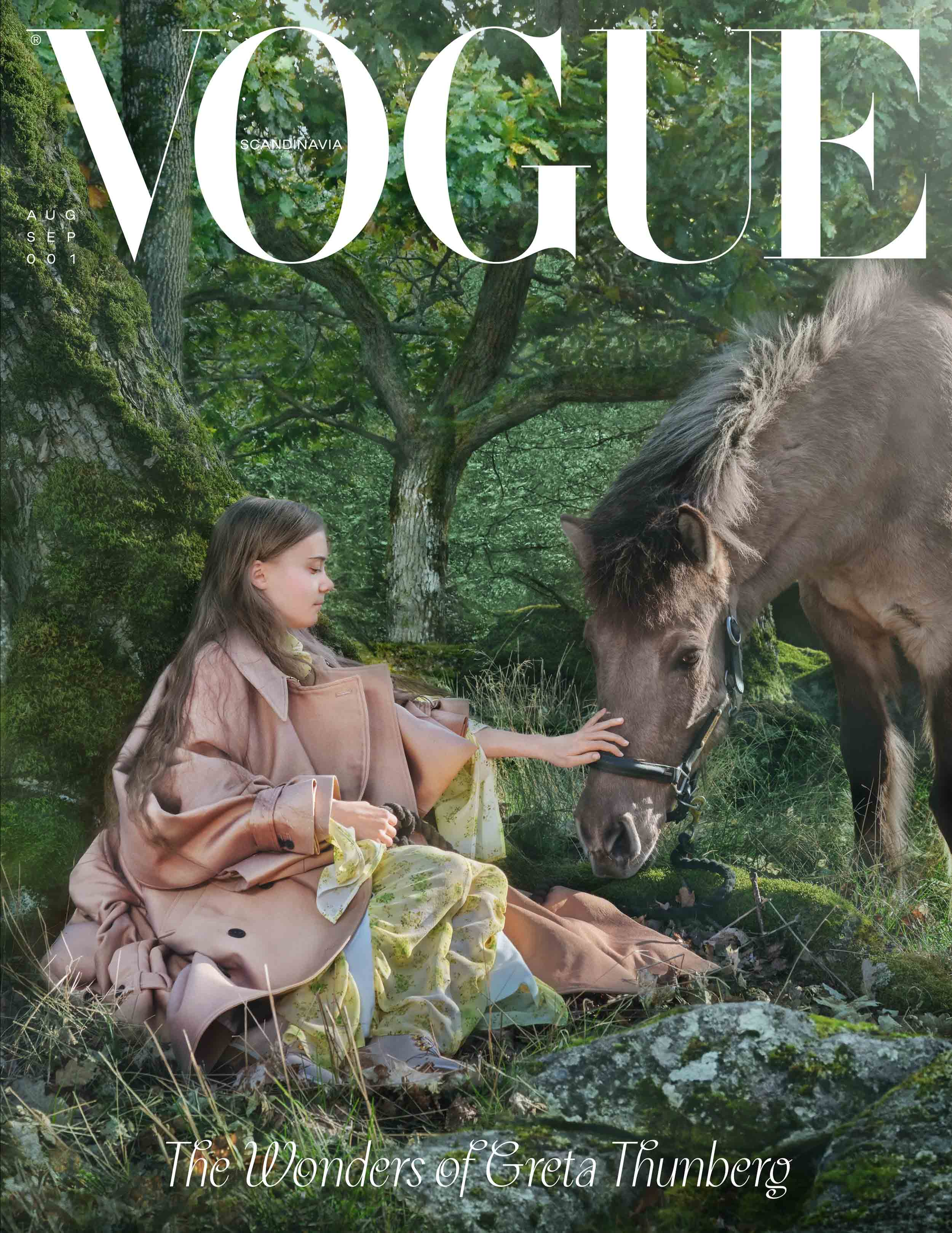 Thunberg's Vogue cover