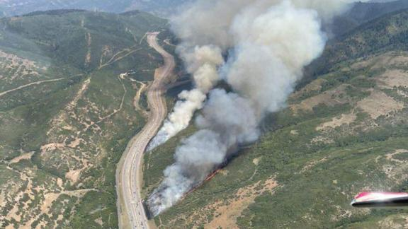 Parley's Canyon Fire in Utah grew to at least 2,500 acres.