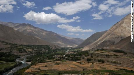 A file photograph of Panjshir valley in 2011.