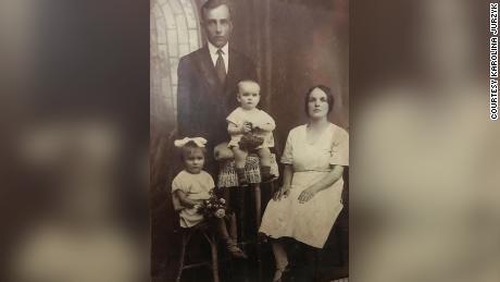 Stanislav Jurzik Sr. and his wife Helena, along with their daughter Alina and baby son, also named Stanislav Courtesy Karolina Jurzik