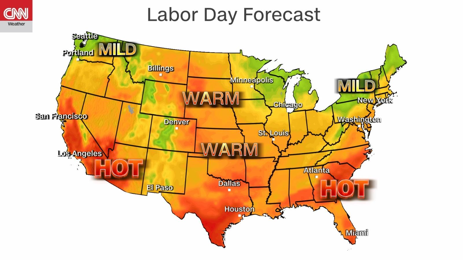 Here's what you need to be buying now. Labor Day Forecast: Ida recovery could be slowed by rain ...