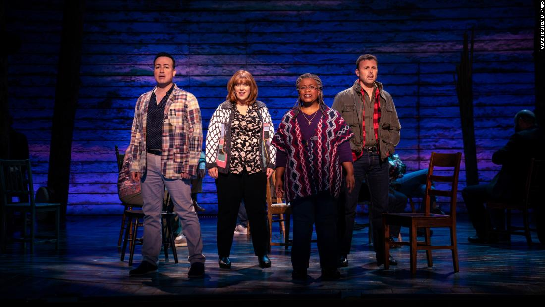 Come From Away' review: The Sept. 11 Broadway musical lands on Apple TV+ with all of its charms intact - CNN